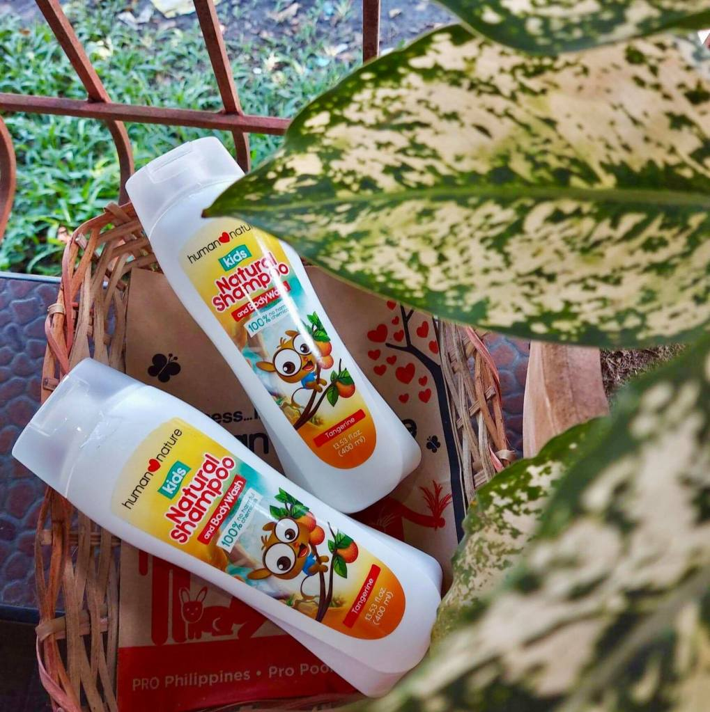 natural shampoo and body wash - gift ideas for babies and kids